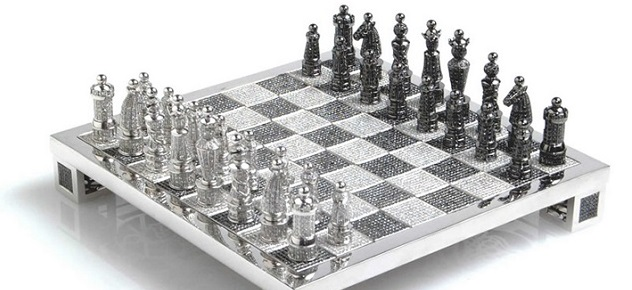 The Most Expensive Diamond Chess in the World