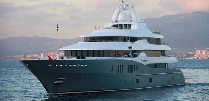 Super Yacht  Yacht collection: Roman Abramovitch Titan 2011 12 08 Titan big