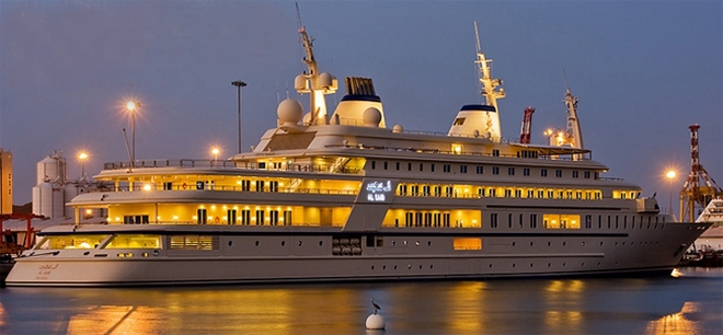 Super Yacht  Top 5 Largest Yacht in World Al said 4