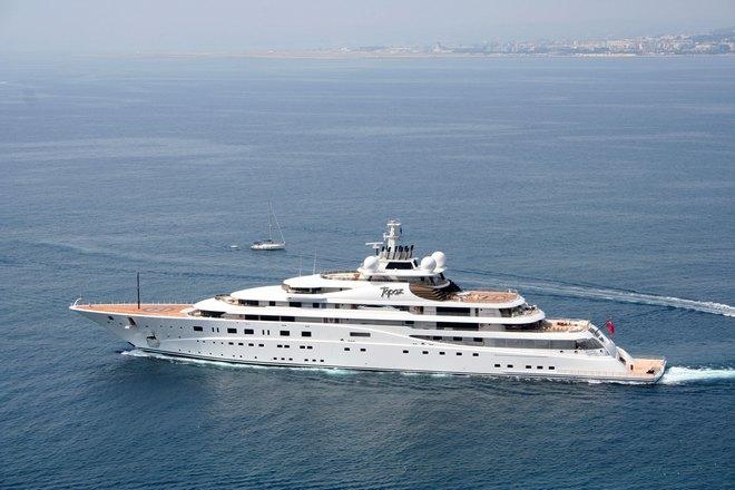 Super Yacht  Top 5 Largest Yacht in World Topaz 5
