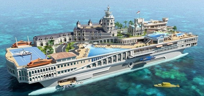Most extravagant Yacht in the world