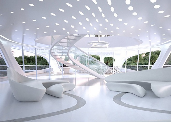 Interior Yachts design  Zaha Hadid's Super Yachts Revealed superyachts2