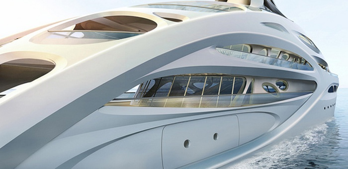Zaha Hadid's Super Yachts Revealed