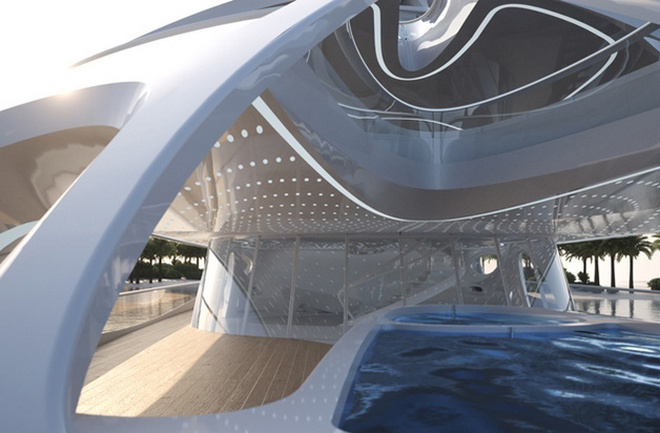 Interior Yacht Design  Zaha Hadid's Super Yachts Revealed zaha hadid blohm voss superyachts 07 613729556 north 628x