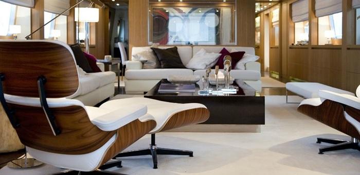 Interior Yachts designers Sá Arannha & Vasconcelos  Interior Yachts designers Sá Arannha & Vasconcelos Maioria Living room