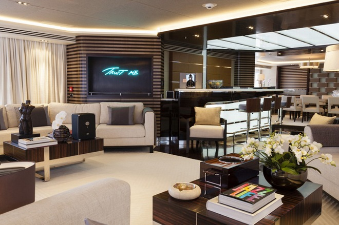 Luxury Yacht  The Super Yacht Galactica Star ANNA BLUM MY Galactica Star Heesen Yachts copyright Emilio Bianchi 5
