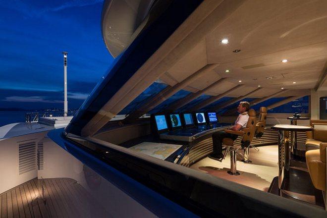 Luzury yacht  The Super Yacht Galactica Star Heesen Galactica Star Jeff6