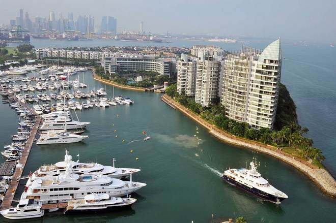 Singapore Yacht Show  Largest exhibition of yachts in Asia Singapore Yacht Show