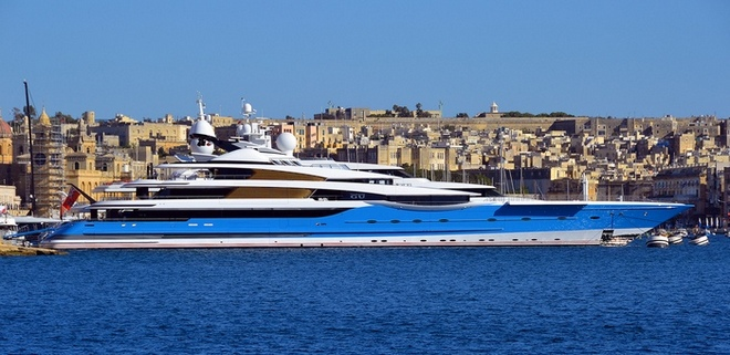 The super yacht of the year 2014