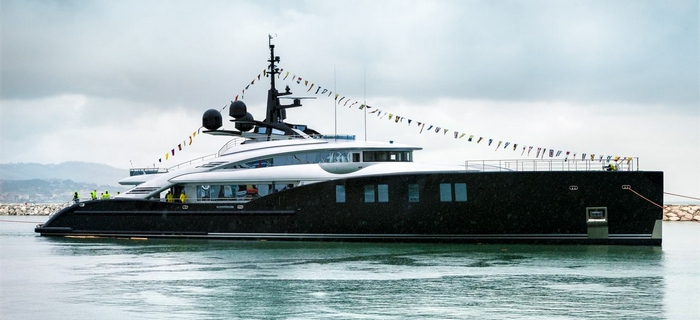 Lauch of the ISA66M grandturismo Yacht