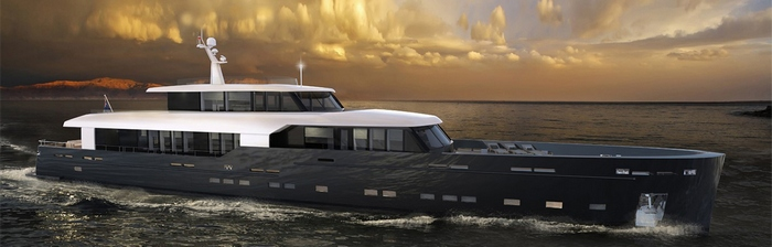 Imminent launch of the Logica 147-01 Super Yacht