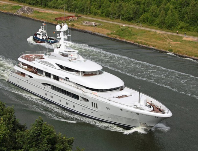 Lürssen Launch The Newly Refitted Superyacht Global_2_660