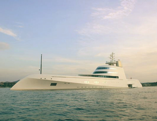 Top 10 Celebrity Yachts