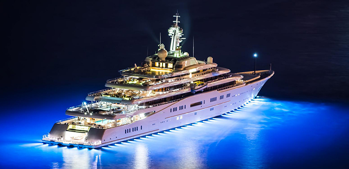 Luxury Yacht of the Week: The Super Yacht  AZZAM