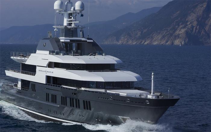 Spectacular Mega yacht Stella Maris