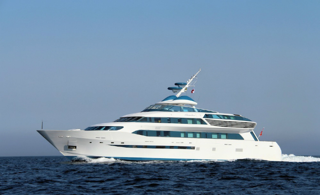 Alamshar  Top 5 fastest yachts  Alamshar