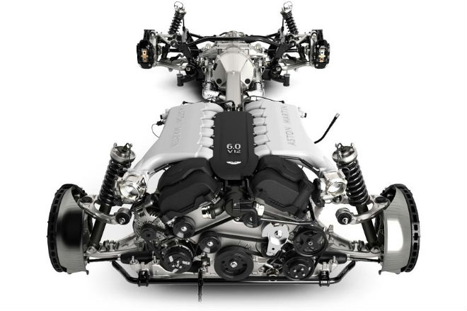 Engine Aston Martin  From the sea to the land always with style Engine Aston Martin