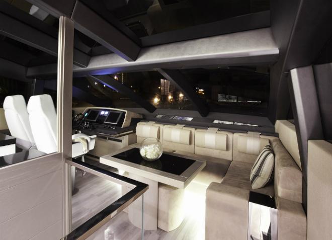 Modern Yacht Interior 1  Pearl 75, a modern yacht's design Modern Yacht Interior 1