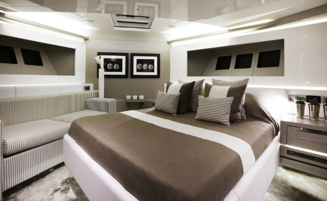 Modern Yacht Interior 6  Pearl 75, a modern yacht's design Modern Yacht Interior 6