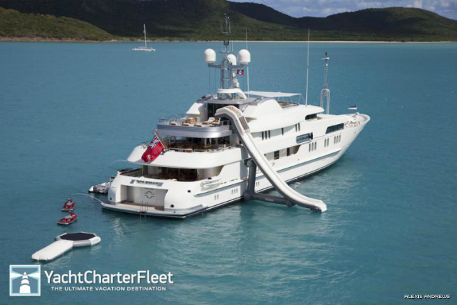 Solemar Exterior  Luxury yacht interior: Solemar Solemar Exterior