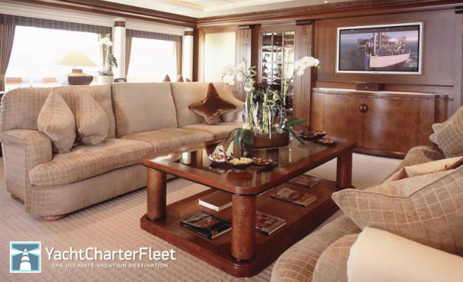 Solemar Interior 1  Luxury yacht interior: Solemar Solemar Interior 1
