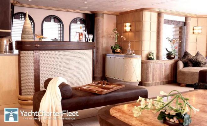 Solemar Interior 10  Luxury yacht interior: Solemar Solemar Interior 10