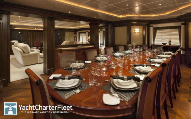 Solemar Interior 11  Luxury yacht interior: Solemar Solemar Interior 11