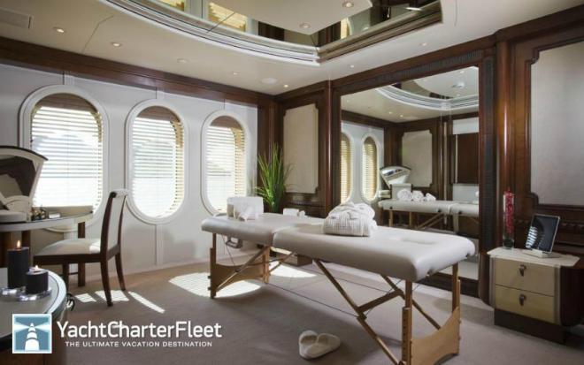 Solemar Interior 2  Luxury yacht interior: Solemar Solemar Interior 2