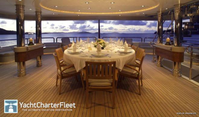 Solemar Interior  Luxury yacht interior: Solemar Solemar Interior