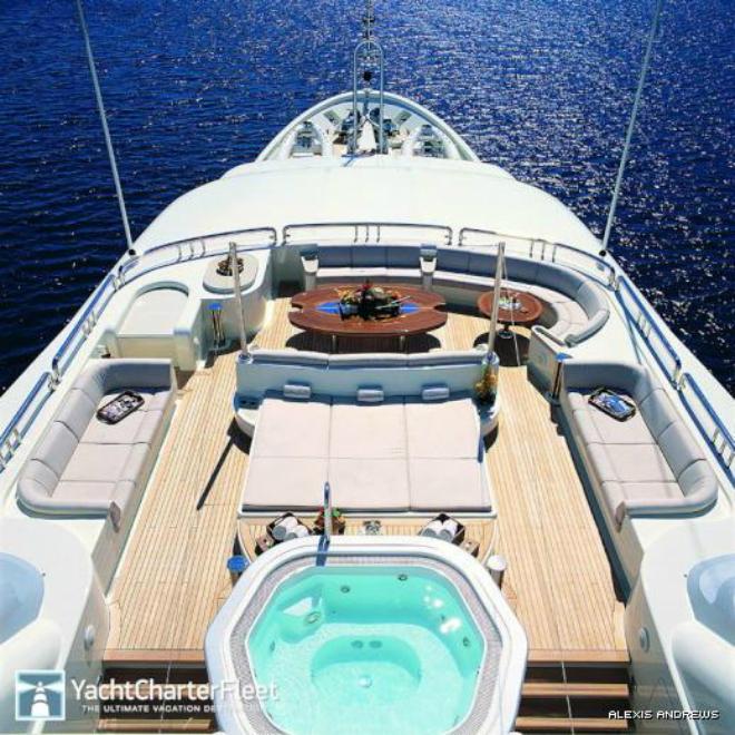 Solemar Sun  Luxury yacht interior: Solemar Solemar Sun