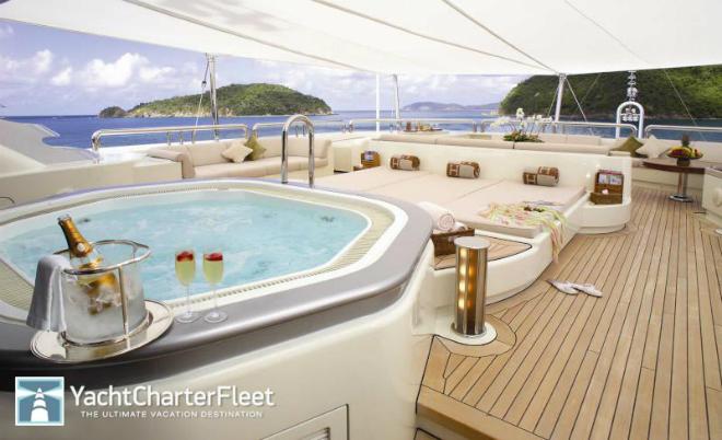 Solemar  Luxury yacht interior: Solemar Solemar