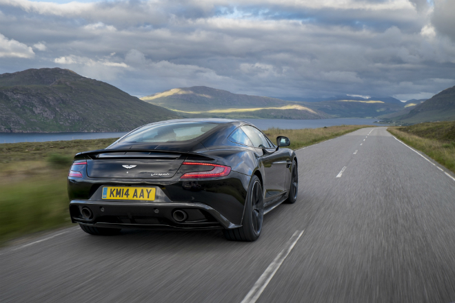 The 2015 Aston Martin Vanquish 1  From the sea to the land always with style The 2015 Aston Martin Vanquish 1