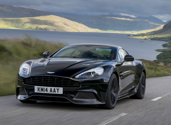 The 2015 Aston Martin Vanquish  From the sea to the land always with style The 2015 Aston Martin Vanquish