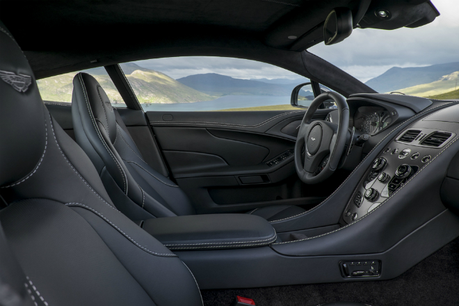 Vanquish 2015 Interior 4  From the sea to the land always with style Vanquish 2015 Interior 4