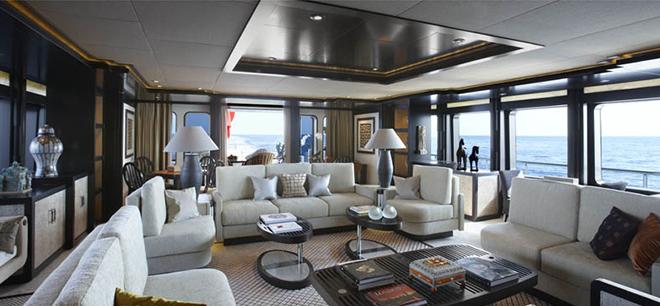 Best Yacht Interior Feadships Trident 5  Best Yacht Interior: Feadship's Trident Best Yacht Interior Feadships Trident 5