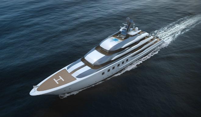 Blohm + Voss BV80 yacht  Best New Boats: Monaco Yacht Show Blohm   Voss BV80 yacht