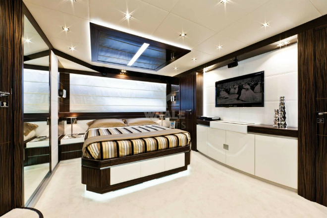 Interior Yahct Design  Meet Dominator's Luxury Interior Design Interior Yahct Design