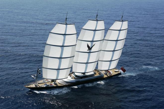 Maltese Falcon  The Largest Luxury Sailing Yacht: Maltese Falcon Maltese Falcon
