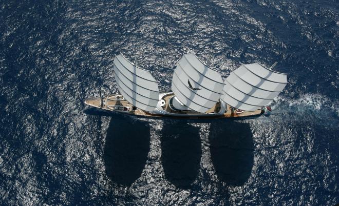 Maltese Falcon 2  The Largest Luxury Sailing Yacht: Maltese Falcon Maltese Falcon 2