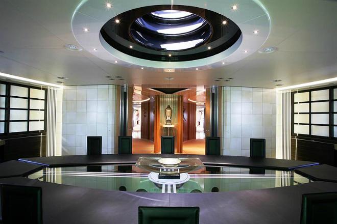 Maltese Falcon Interior 4  The Largest Luxury Sailing Yacht: Maltese Falcon Maltese Falcon Interior 4