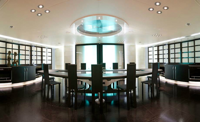 Maltese Falcon Interior 7  The Largest Luxury Sailing Yacht: Maltese Falcon Maltese Falcon Interior 7