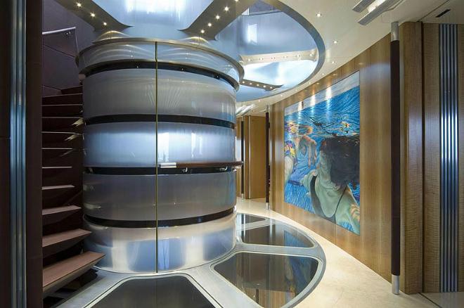 Maltese Falcon Interior 8  The Largest Luxury Sailing Yacht: Maltese Falcon Maltese Falcon Interior 8