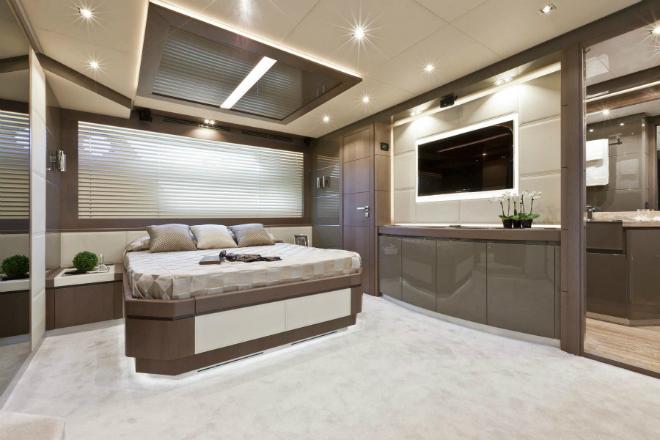 Motor Yacht Design  Meet Dominator's Luxury Interior Design Motor Yacht Design