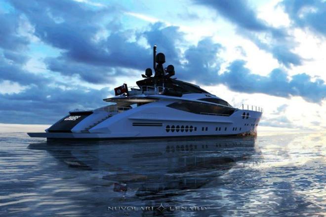Nuvolari Yacht Design 1  Must Know: Nuvolari Lenard luxury studio design yacht Nuvolari Yacht Design 1