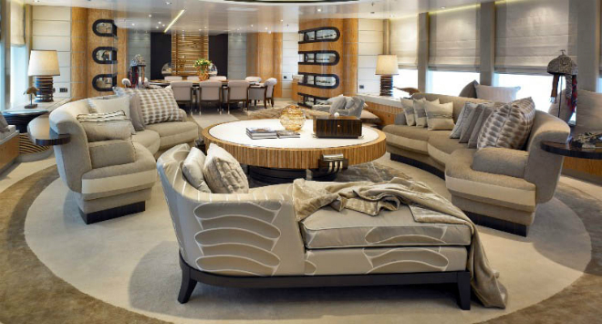 Predator Luxury Yacht Interior by Feadship 2  Luxury Yacht Design: Feadship Predator Luxury Yacht Interior by Feadship 2