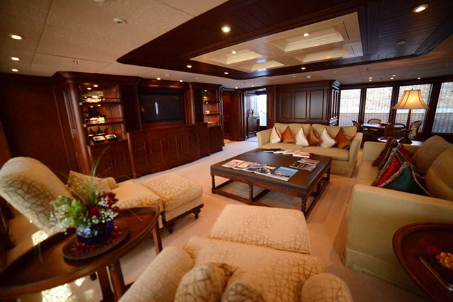 Best yacht Interior NOMAD 1  Best yacht Interior: NOMAD Best yacht Interior NOMAD 1