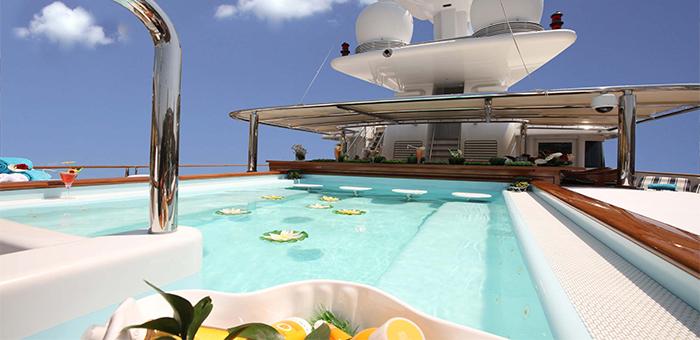 Best yacht Interior: NOMAD