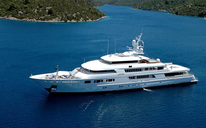 Best yacht Interior NOMAD 9  Best yacht Interior: NOMAD Best yacht Interior NOMAD 9