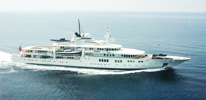 MEET the $160 Million Yacht TATOOSH