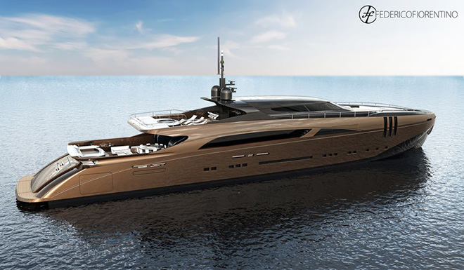 The Belafont Yatch By Federico Fiorentino Luxury Yachts